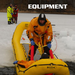 Ice Rescue suite, ice rescue equipment, Stearns, Mustang, Survitec, First Watch