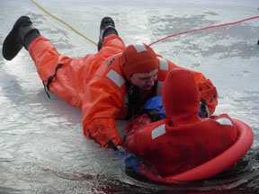 Stearns Free Ice Rescue Class